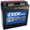 Exide Bike AGM ET14B-BS, 12V 12Ah