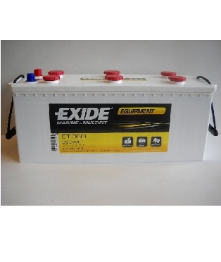 exide equipment 12v 135ah autobaterie