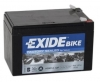 Exide Bike AGM12-12F, 12V 12Ah