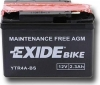 Exide Bike AGM ETR4A-BS, 12V 2.3Ah